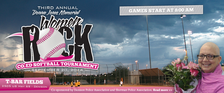 Donna Jones Memorial Co-Ed Softball Tournament