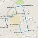Kappa Roo Run Route 2014