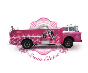 Women Rock Fire Truck. Wherever you see our pink firetruck you're bound to find something BIG happening! Find out how you can have the pink firetruck make an appearance at your next event.