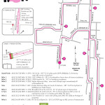 10k Course Map for Women Rock Susan Hicks Memorial 5k, 10k, and fun run