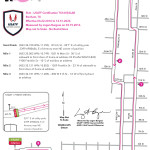 5k Course Map for Women Rock Susan Hicks Memorial 5k, 10k, and fun run