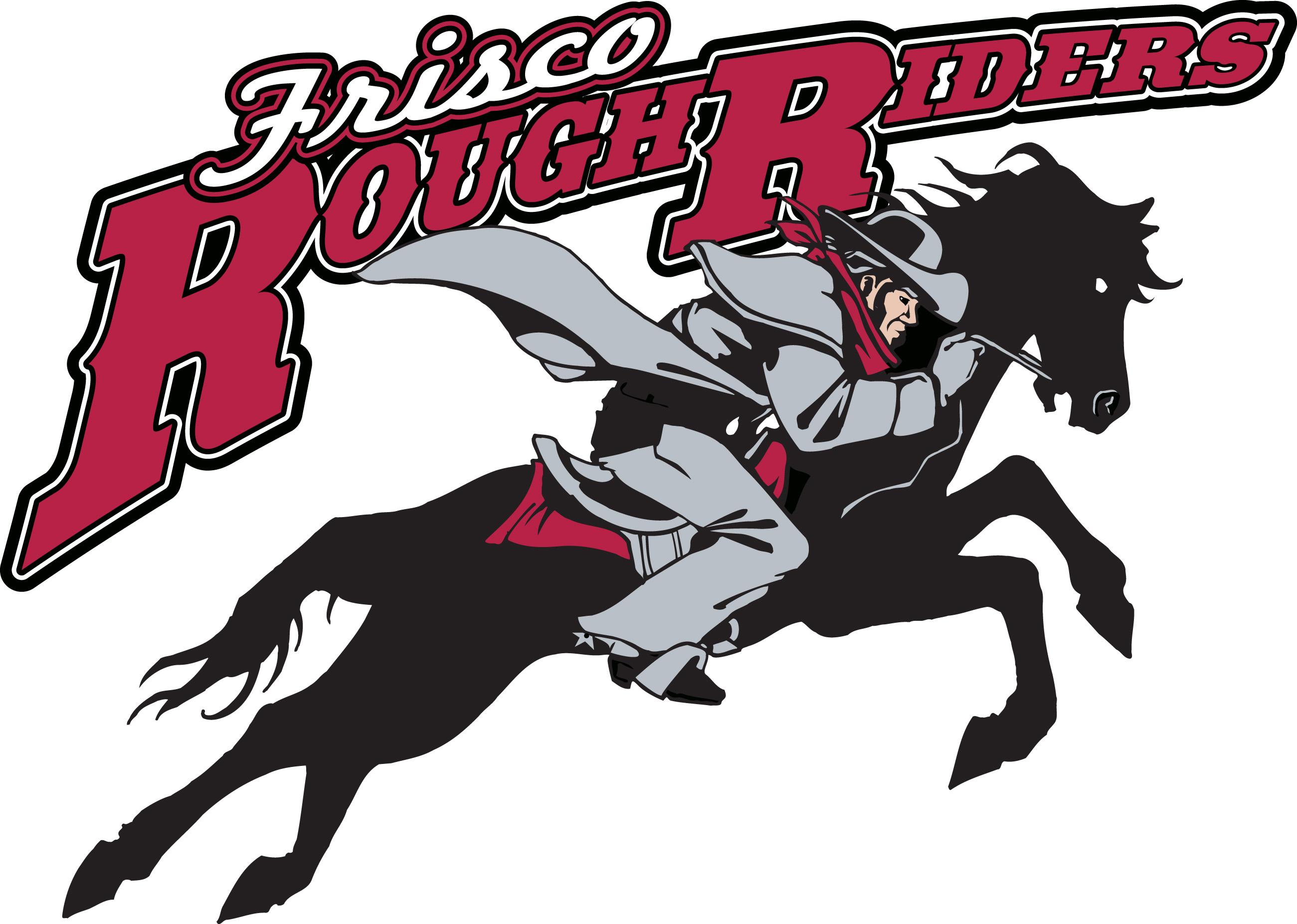 Official Frisco RoughRiders Logo