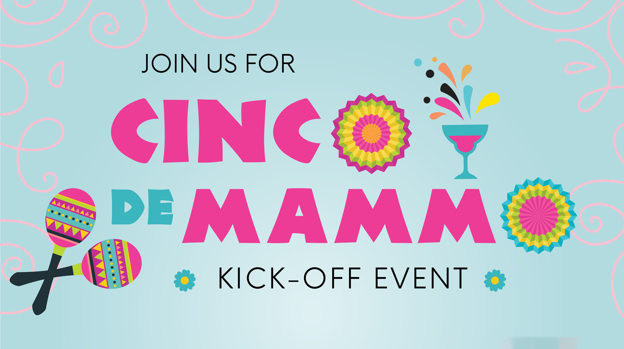 Join us for Cinco de Mammo Kick-Off Event - Monday, April 29, from 6 to 8 p.m. - Rustico Restaurant | 506 West Chestnut | Denison, Tickets $10, online or at the door. All proceeds donated to Women Rock, Inc.